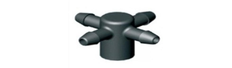 Водовыпуск (manifold) на 4 линии